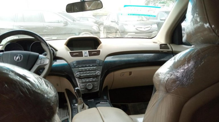 Foreign Used Honda Acura MDX 2008 Model Brown-3