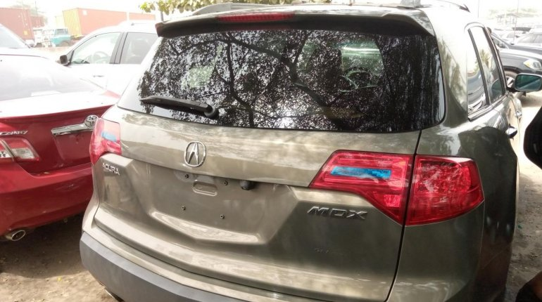 Foreign Used Honda Acura MDX 2008 Model Brown-5