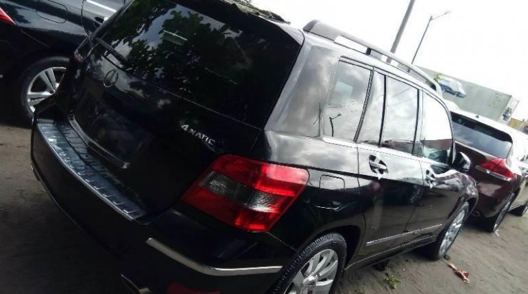 Foreign Used Mercedes-Benz GLK 2011 Model Black-6