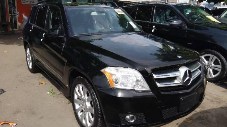 Foreign Used Mercedes-Benz GLK 2011 Model Black-1