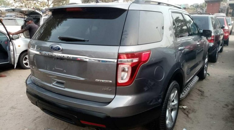 Foreign Used Ford Explorer 2013 Model Gray-7