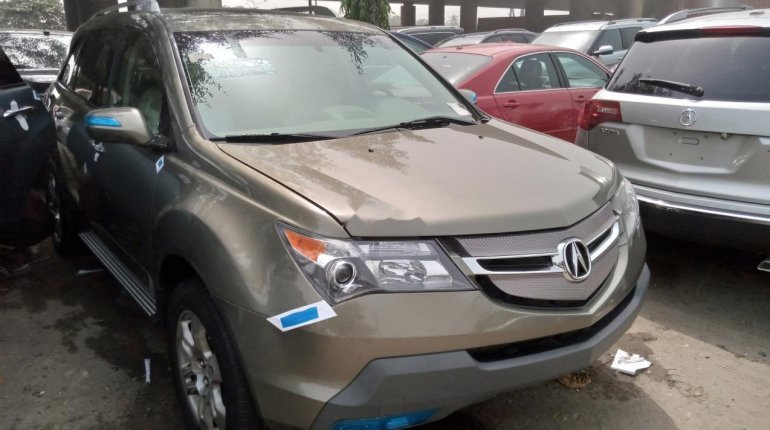 Foreign Used Honda Acura MDX 2008 Model Brown-0