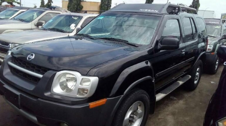 Foreign Used Nissan Xterra 2004 Model Black-0