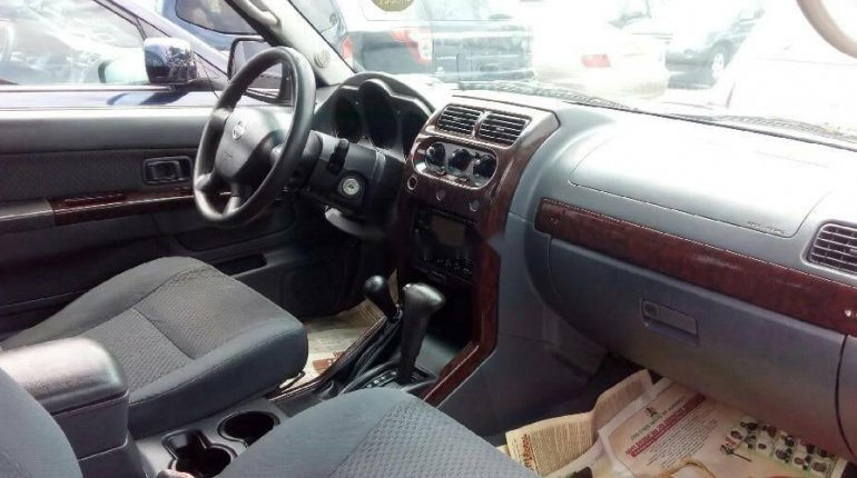 Foreign Used Nissan Xterra 2004 Model Black-1