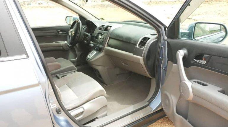 Foreign Used Honda CR-V 2008 Model Blue -11