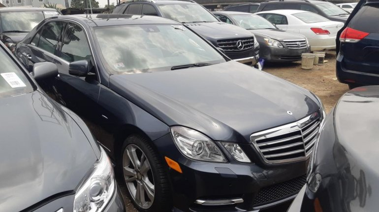 Foreign Used Mercedes-Benz E350 2012 Model Gray-2