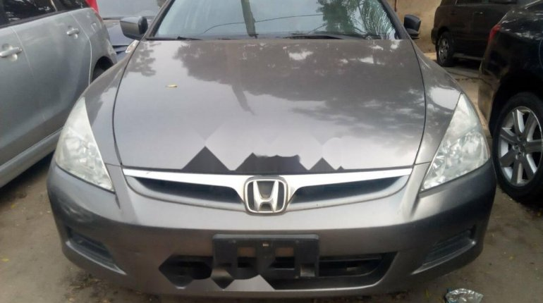 Foreign Used Honda Accord 2006 Model Gray-0