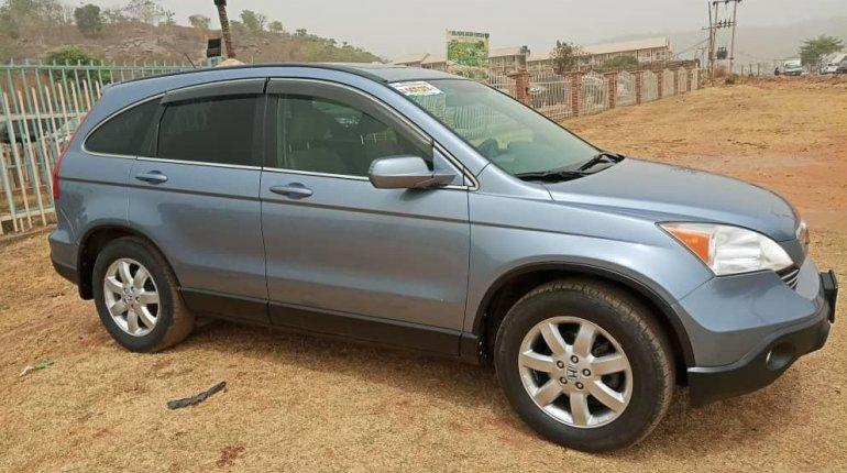 Foreign Used Honda CR-V 2008 Model Blue -2