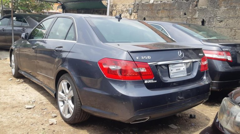Foreign Used Mercedes-Benz E350 2012 Model Gray-11