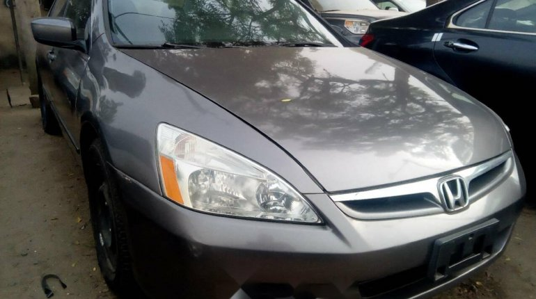 Foreign Used Honda Accord 2006 Model Gray-1