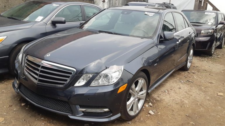 Foreign Used Mercedes-Benz E350 2012 Model Gray-0