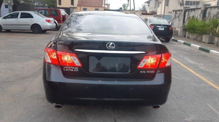 Foreign Used Lexus ES 2009 Model Black-1
