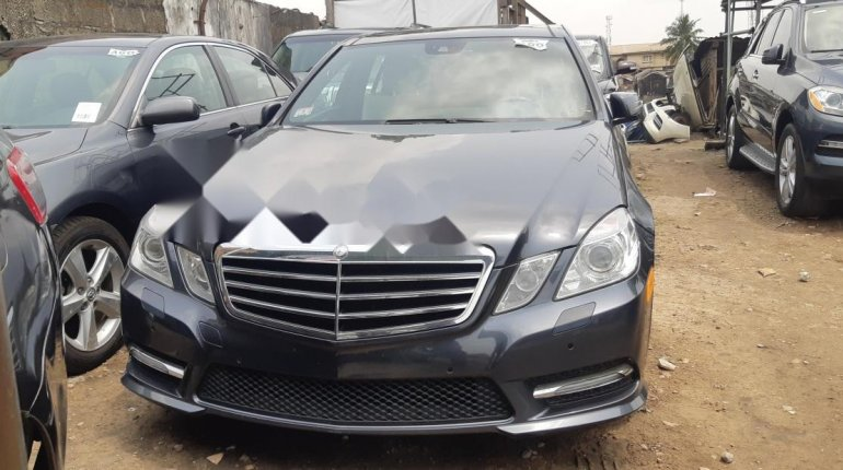Foreign Used Mercedes-Benz E350 2012 Model Gray-1