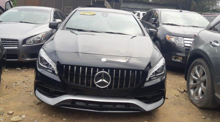 Tokunbo Mercedes-Benz CLA-Class 2015 Model Black-9