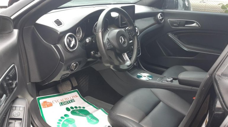 Tokunbo Mercedes-Benz CLA-Class 2015 Model Black-6