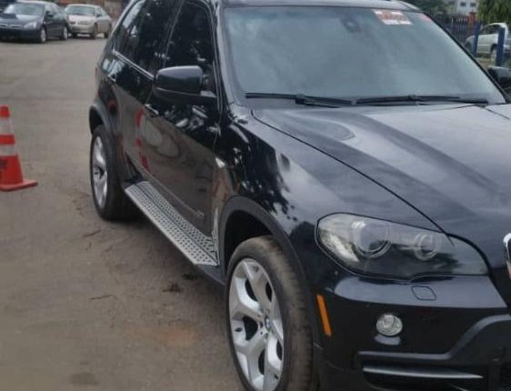 Foreign Used 2008 BMW X5 for sale in Lagos.-9
