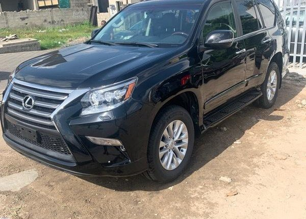 Foreign Used 2018 Black Lexus GX for sale in Lagos. -0