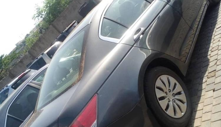 Foreign Used 2009 Grey Honda Accord for sale in Lagos.-1