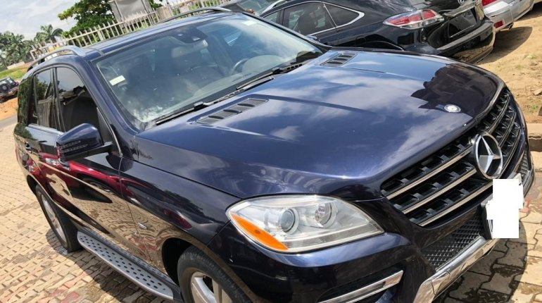 Naija Used 2013 Mercedes-Benz ML350 for sale-4