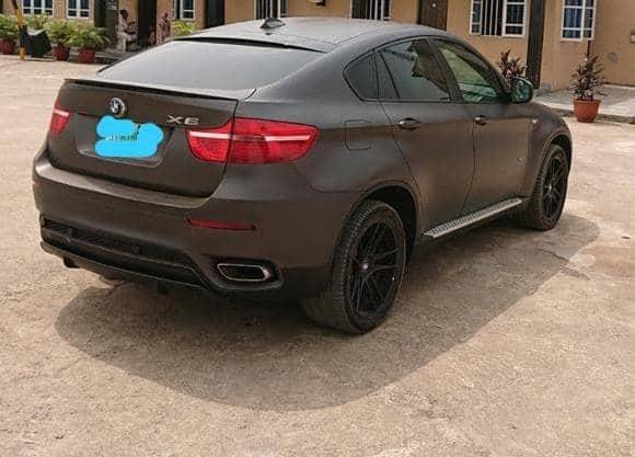 Clean Naija Used BMW X6 2011 Model-1