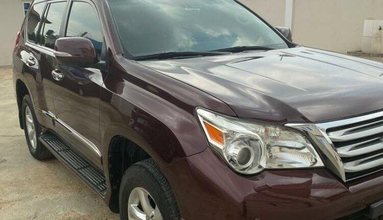 Super Clean Naija Used Lexus GX 2012-0