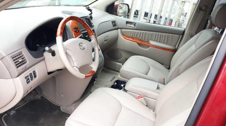 Foreign Used 2008 Toyota Sienna Limited XLE -5