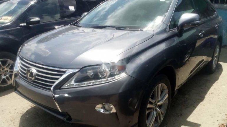 Foreign Used 2015 Grey Lexus RX for sale in Lagos. -2