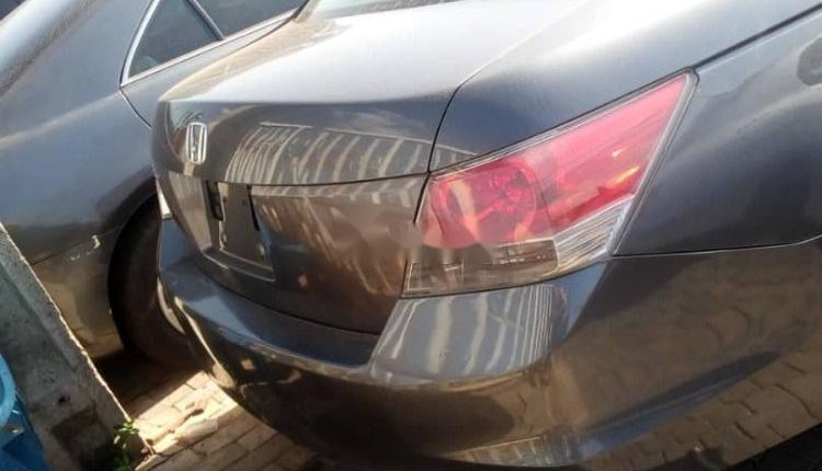 Foreign Used 2009 Grey Honda Accord for sale in Lagos.-2