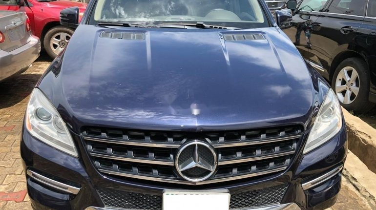 Naija Used 2013 Mercedes-Benz ML350 for sale-0