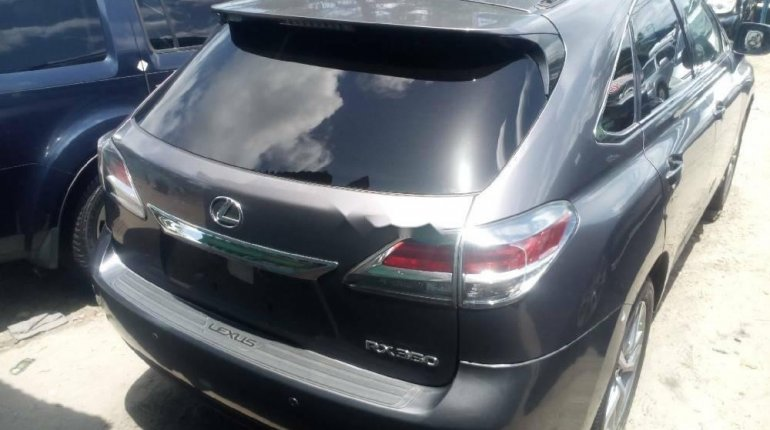 Foreign Used 2015 Grey Lexus RX for sale in Lagos. -5