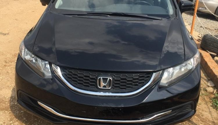 Foreign Used 2013 Black Honda Civic for sale in Abuja. -0