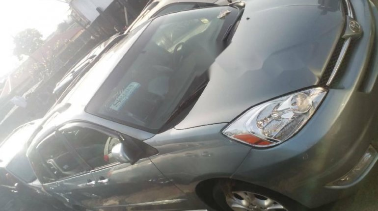 Foreign Used 2005 Dark Blue Toyota Sienna for sale in Lagos. -1