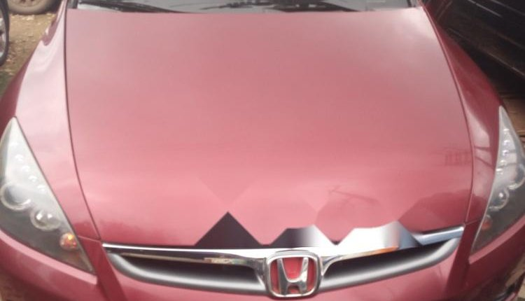 Foreign Used 2006 Red Honda Accord for sale in Lagos. -0