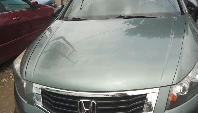 Foreign Used 2008 Green Honda Accord for sale in Lagos. -0