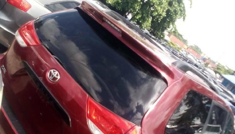 Foreign Used 2013 Maroon Toyota Sienna for sale in Lagos. -3