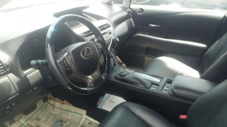 Foreign Used 2015 Grey Lexus RX for sale in Lagos. -3