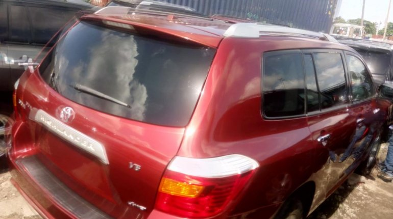 Super Clean Naija Used Toyota Highlander 2008 for sale-4