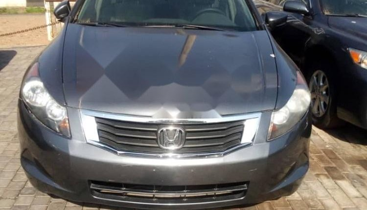 Foreign Used 2009 Grey Honda Accord for sale in Lagos.-0