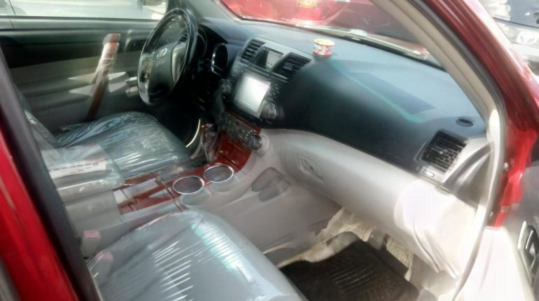 Super Clean Naija Used Toyota Highlander 2008 for sale-2