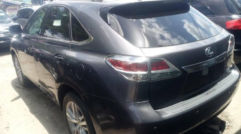 Foreign Used 2015 Grey Lexus RX for sale in Lagos. -6