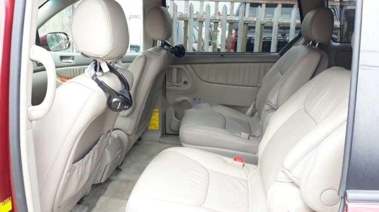 Foreign Used 2008 Toyota Sienna Limited XLE -3