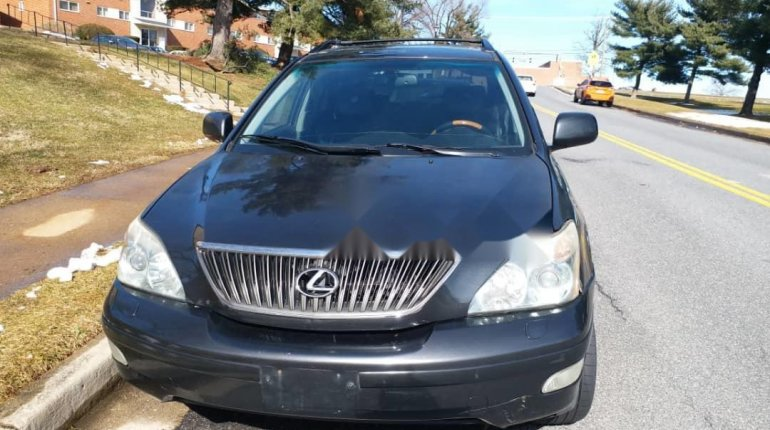 Foreign Used Lexus RX 2005 Model Gray-7