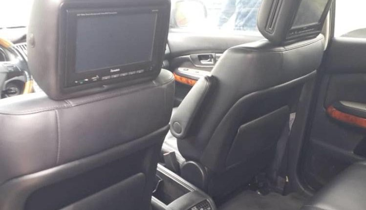 Foreign Used Lexus RX 2005 Model Gray-4
