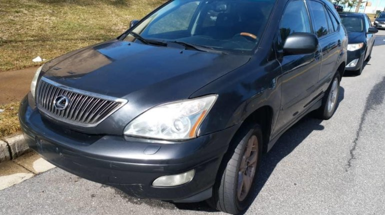 Foreign Used Lexus RX 2005 Model Gray-0