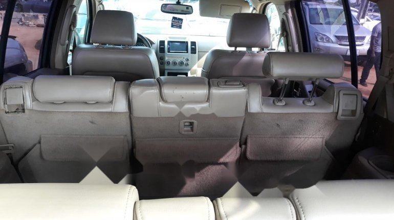 Nigeria Used Nissan Pathfinder 2006 Model Gray-2