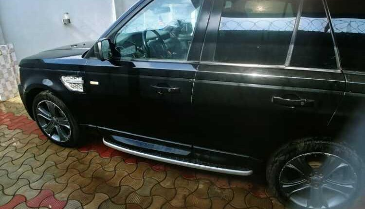 Nigeria Used Ford Edge 2013 Model Black-5