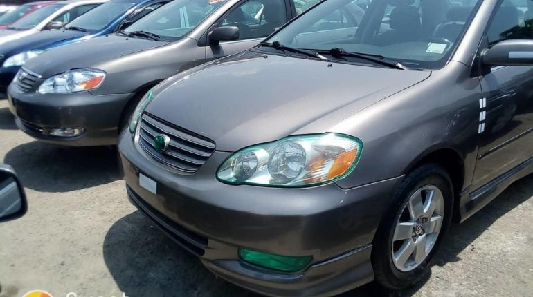Foreign Used 2007 Grey Toyota Corolla for sale in Lagos. -0