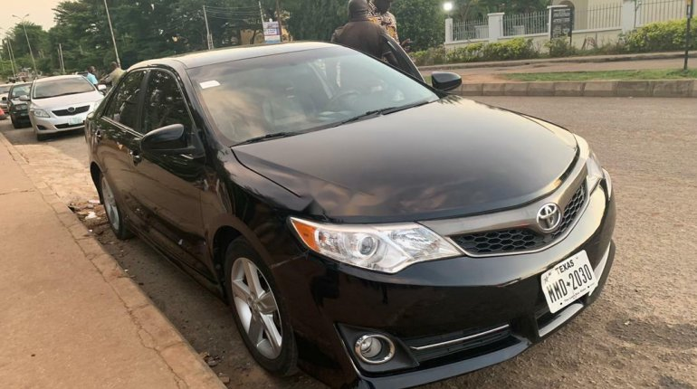 Foreign Used Toyota Camry 2014 Model Black-0