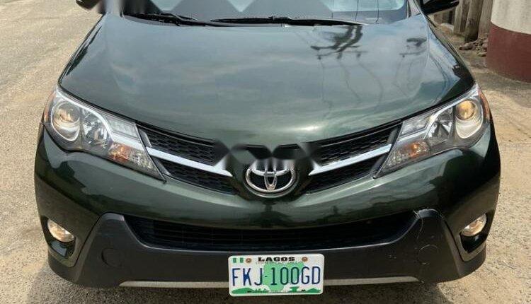 Nigeria Used Toyota RAV4 2014 Model Black-0