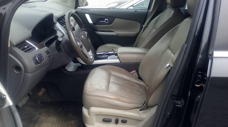 Nigeria Used Ford Edge 2013 Model Black-2